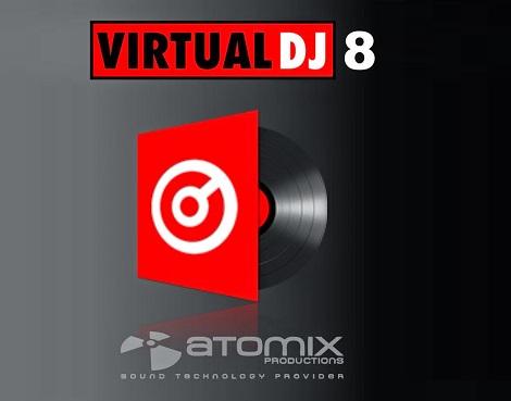 Atomix VirtualDJ 8.2 Cover image