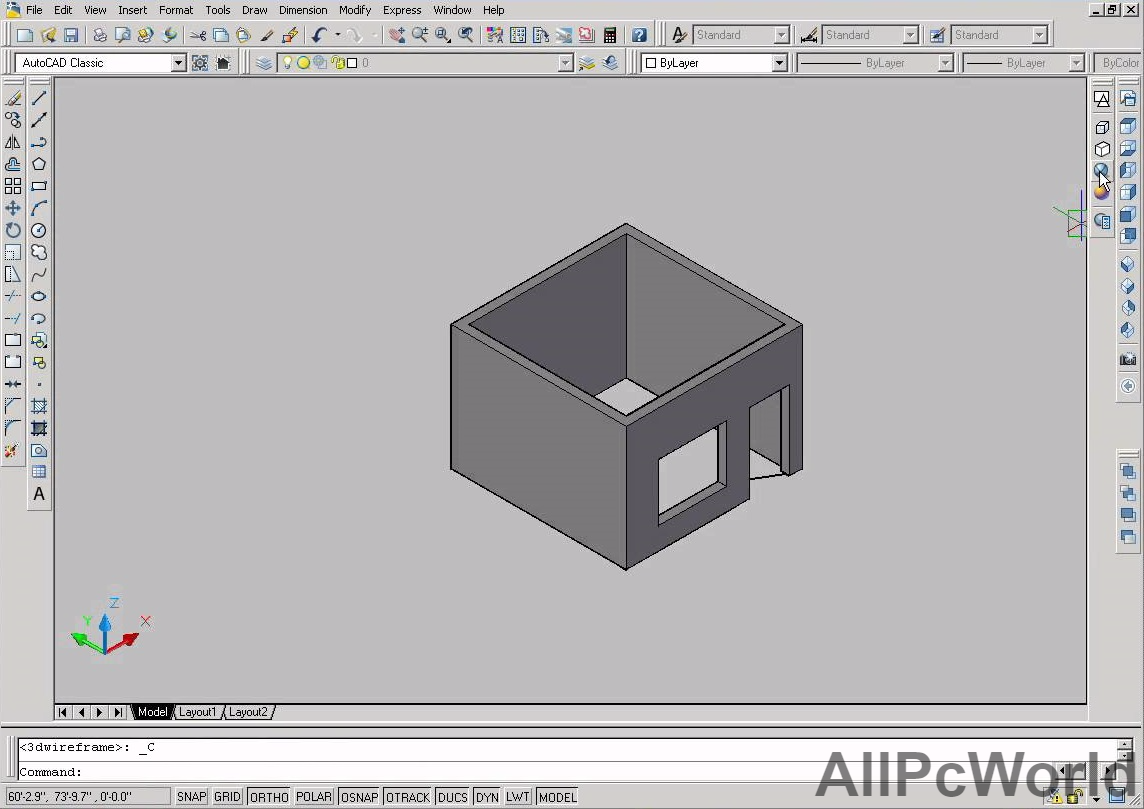 autocad 2007 drawing all pc world