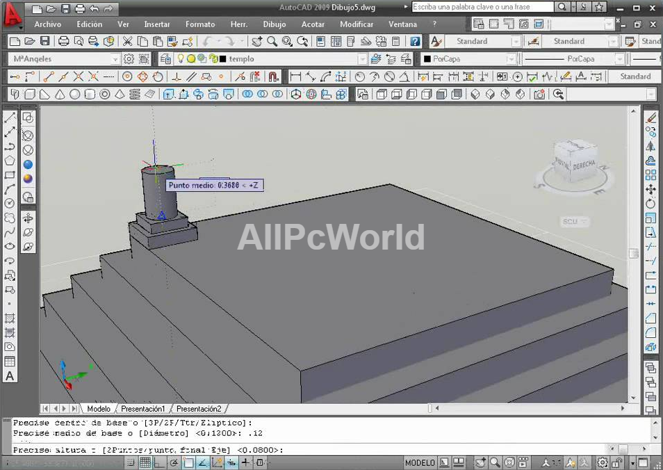 Autodesk AutoCAD 2009 3D User Interface