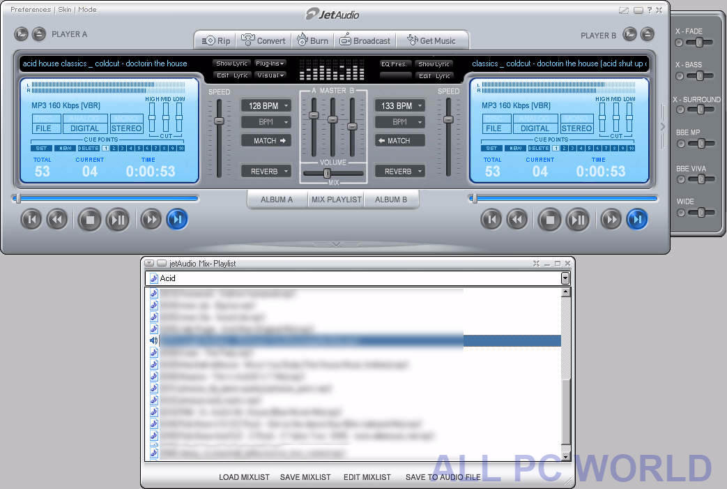 JetAudio 8.1.5 Free Download