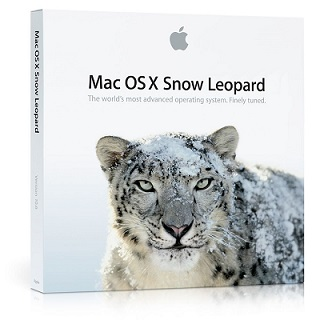 Mac OS X SnowLeopard Disk Cover