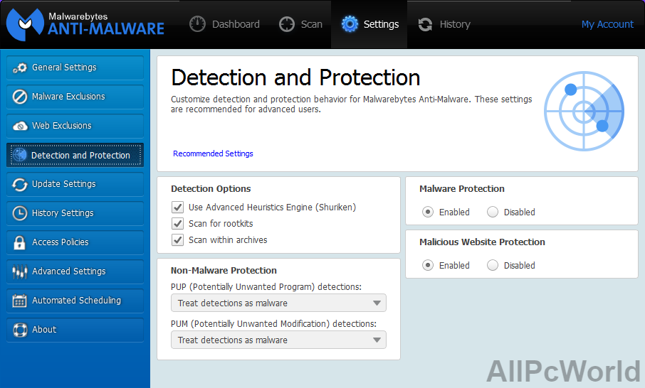 Malwarebytes Anti-Malware Free Download - ALL PC World