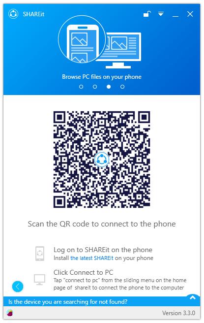 ShareIt Welcome Screen UI Free Download
