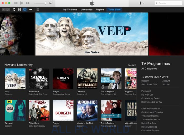 iTunes 12 5 1 For Windows Free Download - ALL PC World