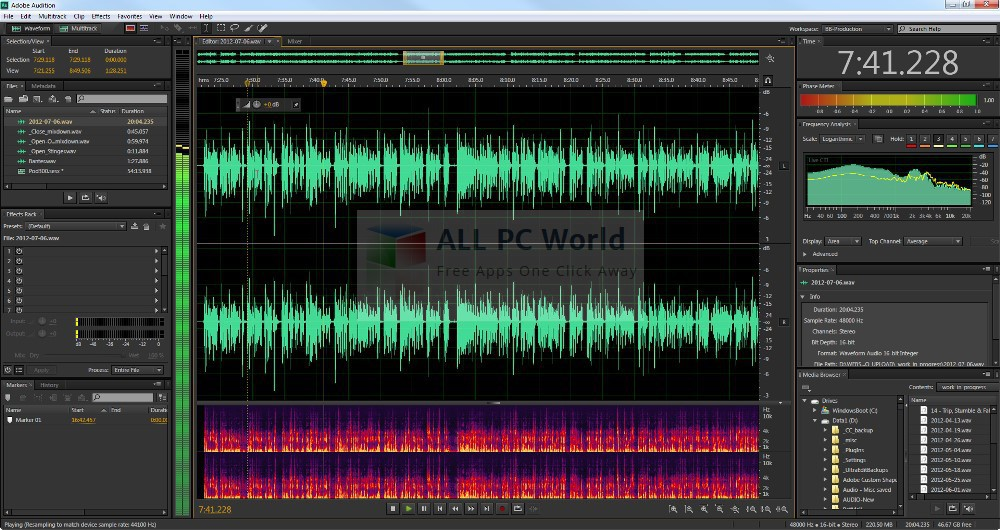 Adobe Audition CS6 Review and Features