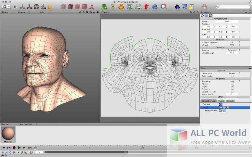 Cheetah3D User Interface