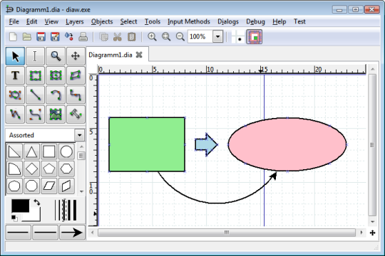 Dia Diagram Editor Review And Features All Pc World