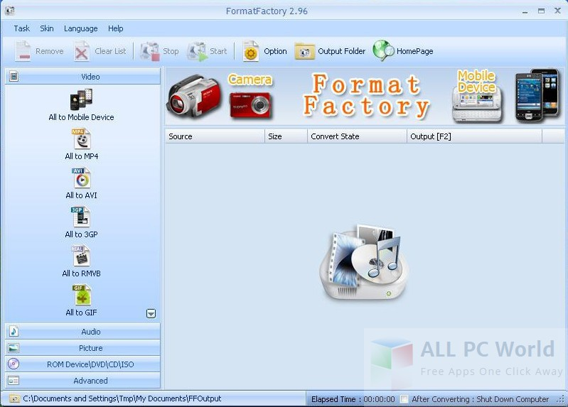 Format Factory Converter Review and Features