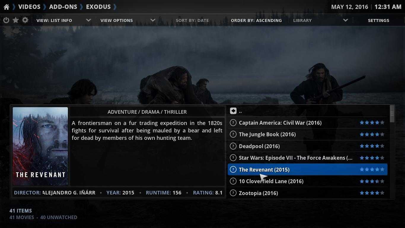 Kodi 15.2 Player Review and Features