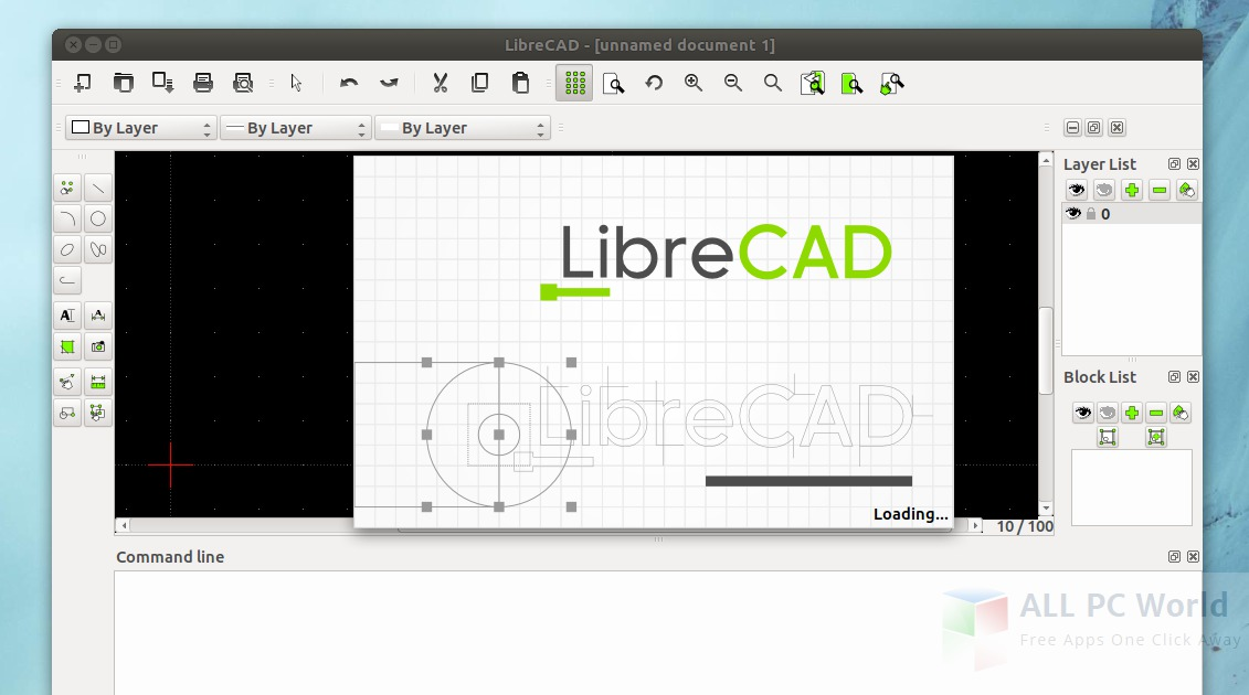LibreCAD V2.1.3 Review and Features