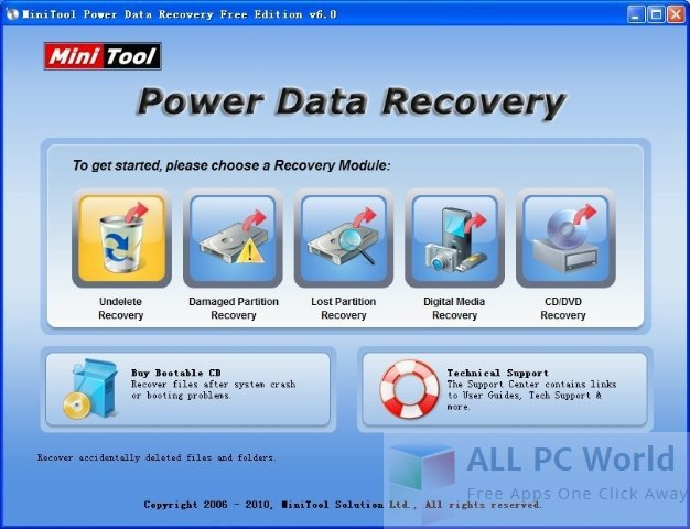 Power Data Recovery Free Edition 6.8 Review