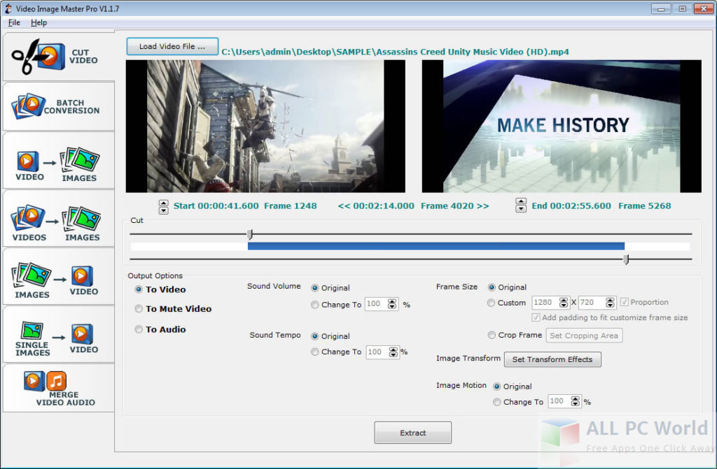 Video Image Master Pro Free Download - ALL PC World