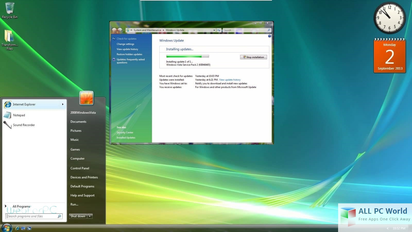 Windows vista all in one iso download sightpigi.