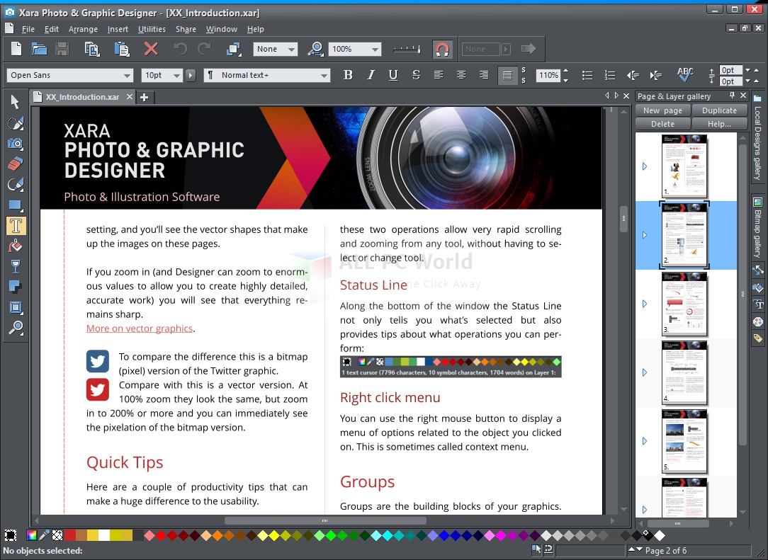 Xara PHOTO & GRAPHIC DESIGNER 365 Review and Features