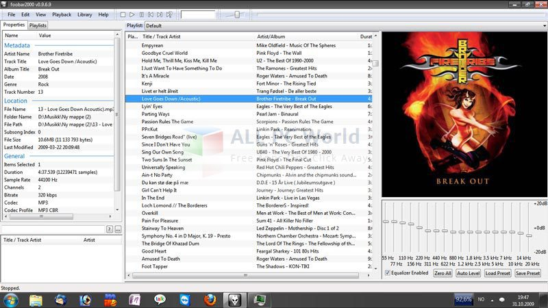 foobar2000 v1.3.12 Review and Features