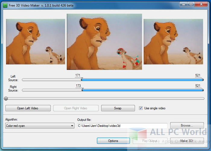 Download Free 3D Video Maker Review