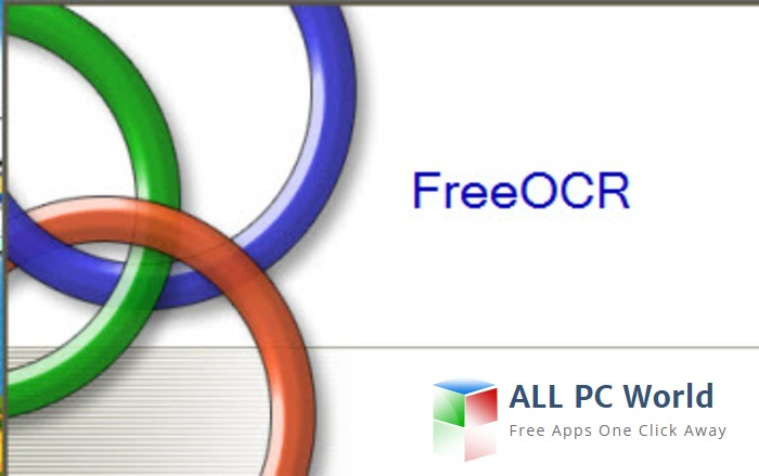 Download FreeOCR v5 4 1 Software - ALL PC World