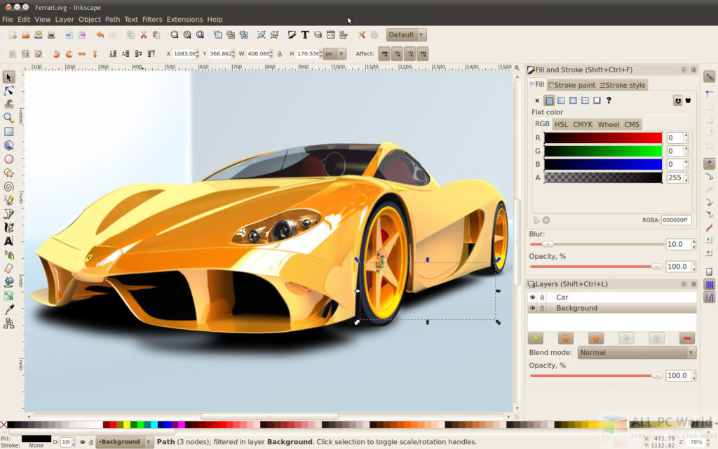 Inkscape Graphics Editor Review