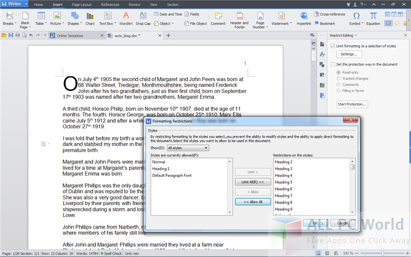 Kingsoft Office Suite 2013 Free Review