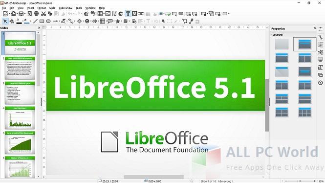 libreoffice 5.1.6