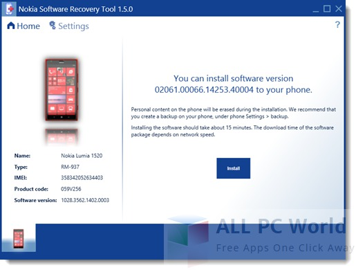 Nokia Software Recovery Tool Review