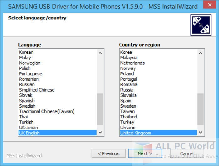 Download Samsung USB Driver For Mobile Phones Free - ALL PC World