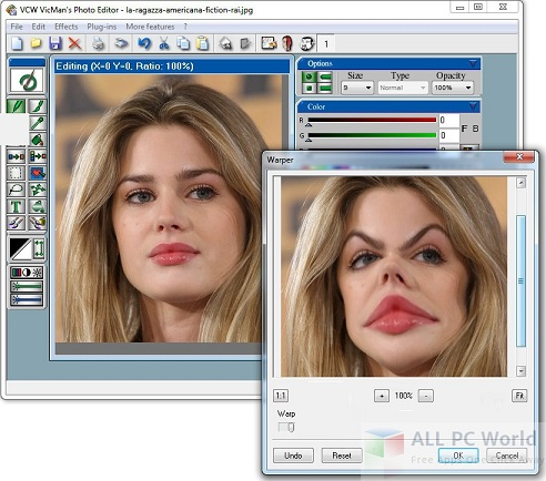 VicMans Photo Editor 8.1 Free Download