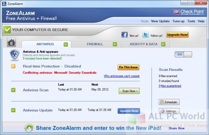 ZoneAlarm Antivirus Review