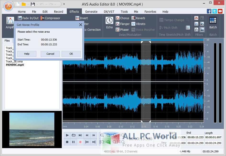 AVS Audio Editor 8.2 Review