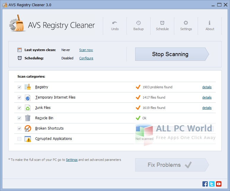 AVS Registry Cleaner 3.0 Review