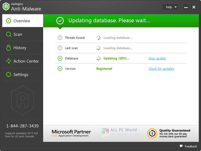 Auslogics Anti-Malware 2017 User Interface