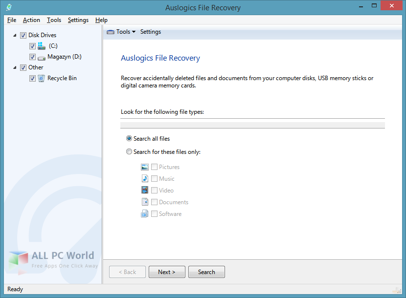 auslogics file recovery full