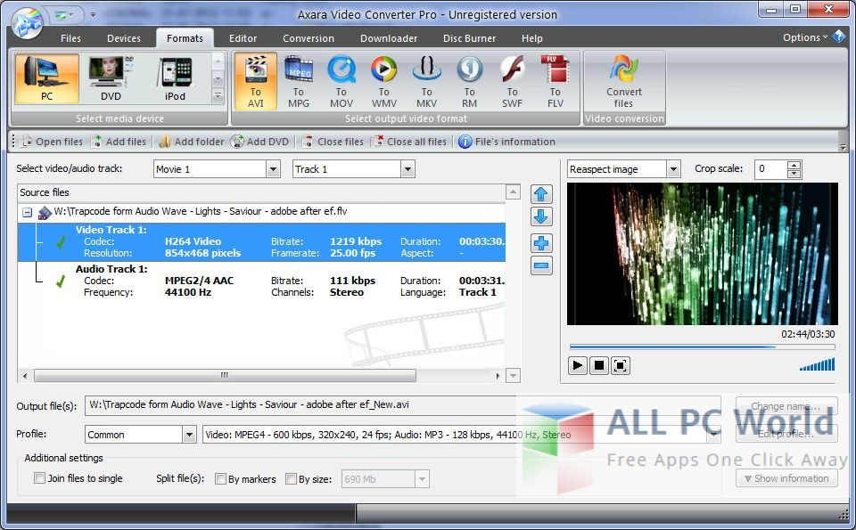 Axara Video Converter Pro Review