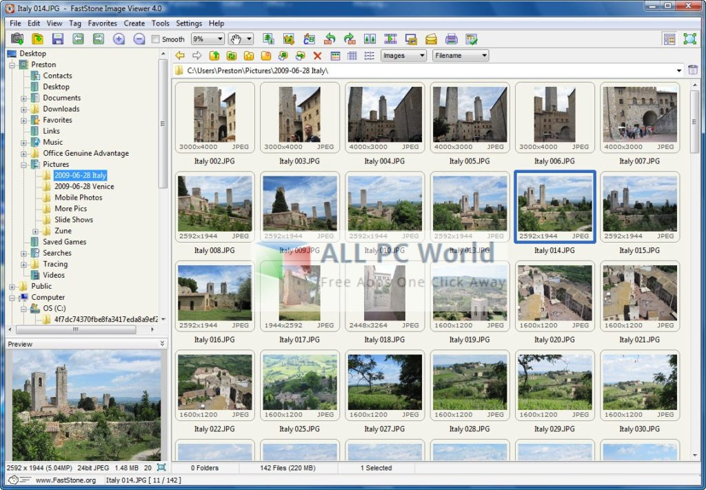 Download FastStone Image Viewer Free - ALL PC World