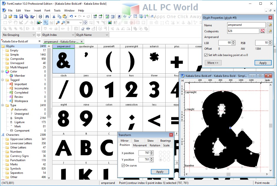 FontCreator Professional Edition 10.1 Review