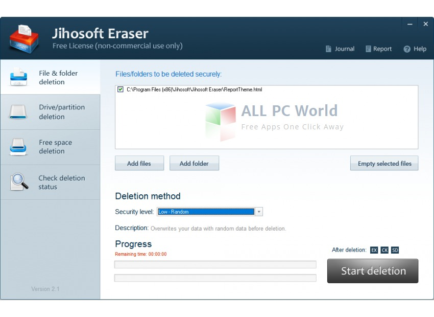 Jihosoft Free Eraser Review