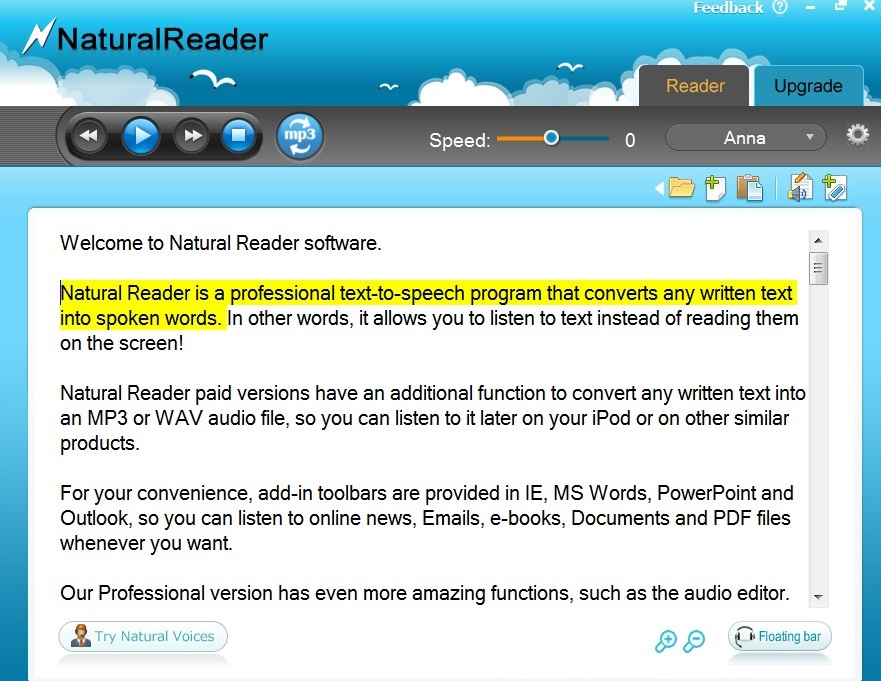 Download Free NaturalReader 14