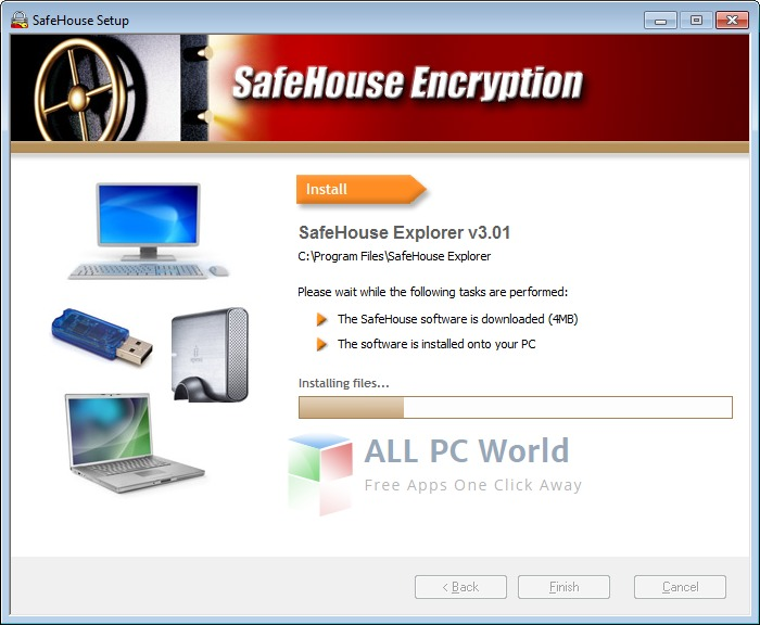 SafeHouse Encryption Software Free Download
