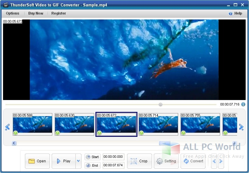 ThunderSoft Video to GIF Converter Review