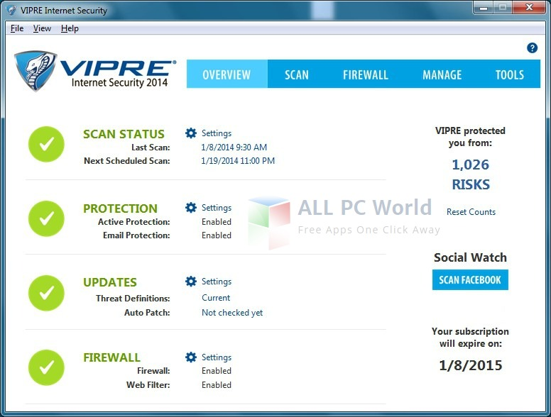 VIPRE Internet Security Pro 2016 Review