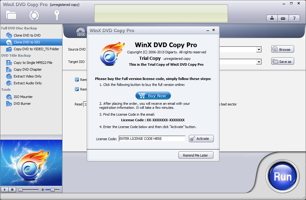 Download WinX DVD Copy Pro Review