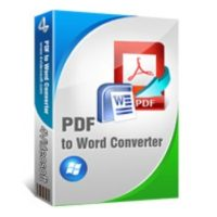 4Videosoft PDF to Word Converter 3.1 Free Download