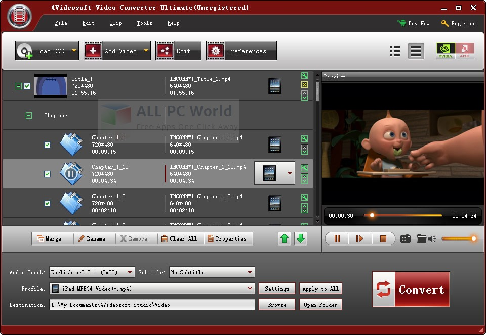 Download 4Videosoft Video Converter Ultimate Free - ALL PC World