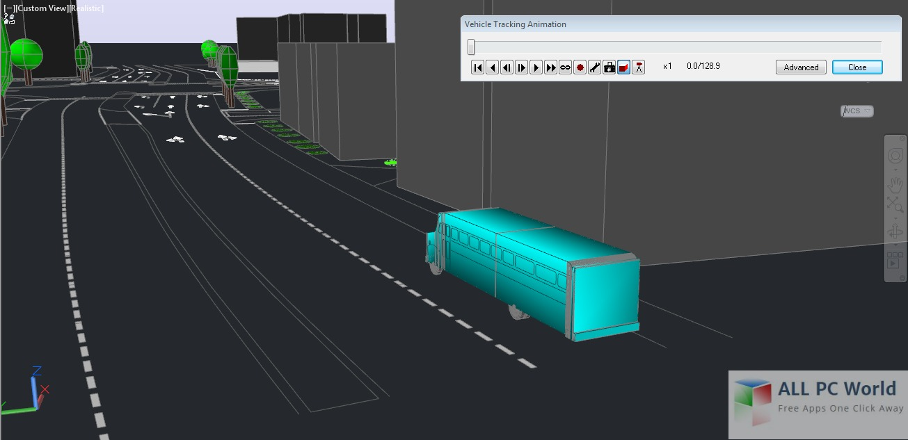 Autodesk Vehicle Tracking 2016 User Interface