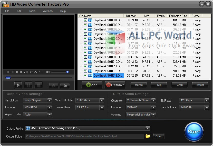 hd video converter for pc free download