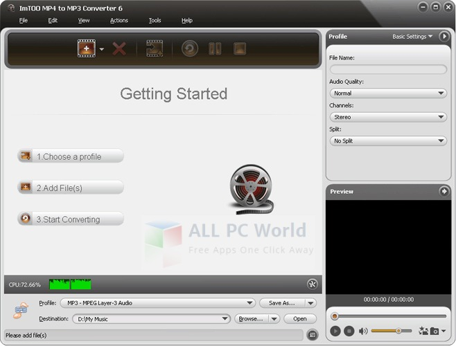 ImTOO MP4 to MP3 Converter Review