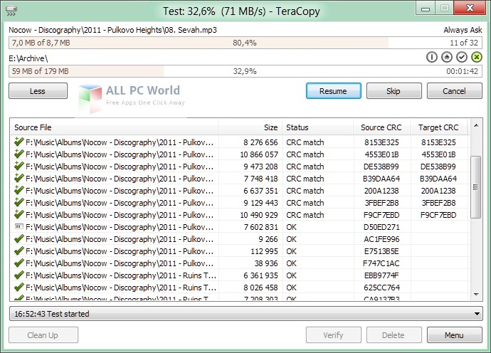 Download TeraCopy 2 3 Free - ALL PC World