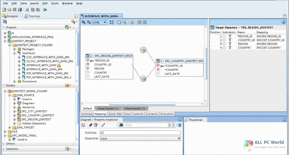 Oracle11g User Interface