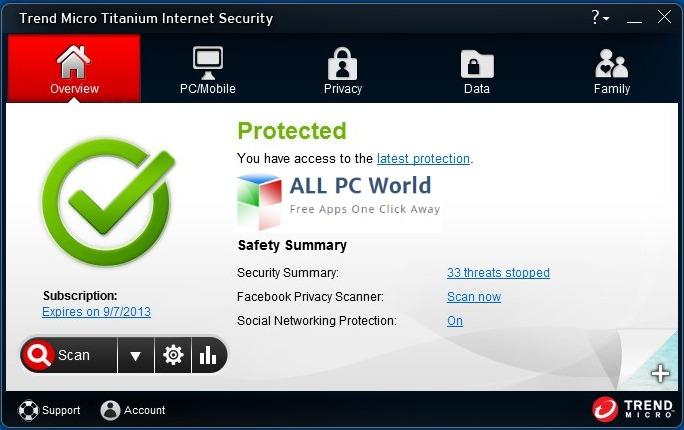 Download Trend Micro Titanium Internet Security 2013 Free