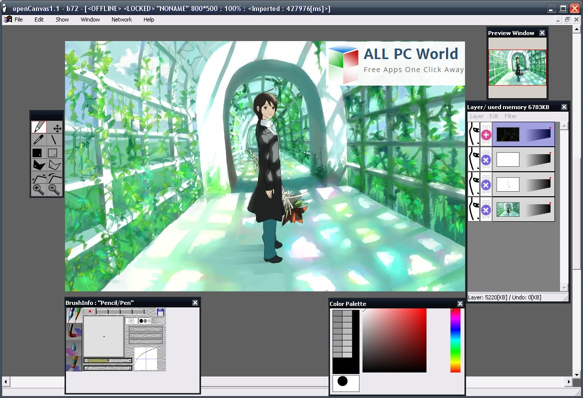 Opencanvas Graphic Editor Review All Pc World